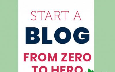How to start a blog from zero to hero