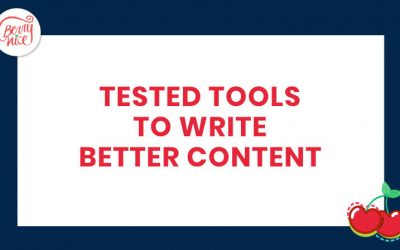 5 Tested tools to write better content
