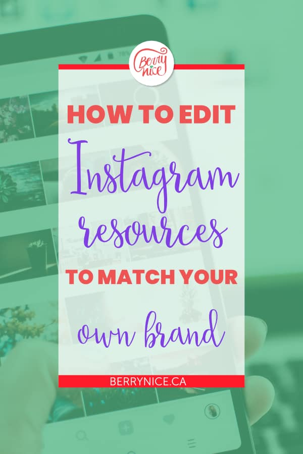 how to edit graphics to match your brand